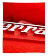 Ferrari Intake Fleece Blanket