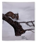 Field Mouse Fleece Blanket