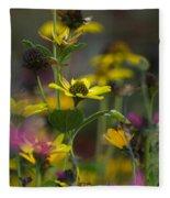 Field Of Flowers Fleece Blanket