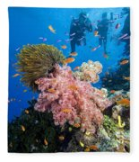 Fiji Underwater Fleece Blanket
