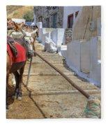 Fira - Santorini Fleece Blanket