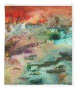 Fire Lake Fleece Blanket
