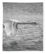 Flight Of The Swan Fleece Blanket
