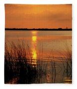 Florida Sunset Fleece Blanket