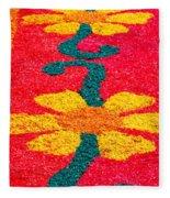 Flower Carpets Fleece Blanket