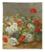 Flower Study Fleece Blanket