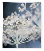 Flowering Dill Clusters Fleece Blanket