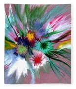 Flowers Fleece Blanket