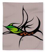 Fly Fish Fly Fleece Blanket