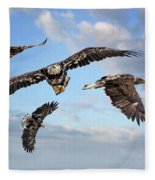 Flying Eagles Fleece Blanket