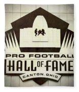 Football Hall Of Fame #1 Fleece Blanket