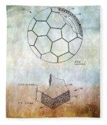 Football Patent Fleece Blanket