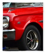 Ford Falcon Details Fleece Blanket