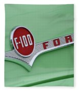 Ford Pickup Details Fleece Blanket