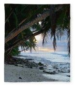 Forest Beach Fleece Blanket