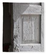 Fort Warren Door 7150 Fleece Blanket