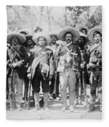 Francisco Pancho Villa Fleece Blanket