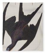 Frigate Pelican Fleece Blanket