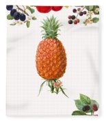 Fruits Fleece Blanket