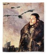 Game Of Thrones. Jon Snow. Fleece Blanket