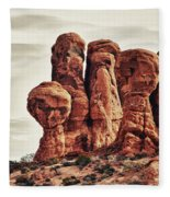 Garden Of Eden Fleece Blanket
