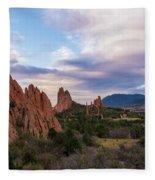 Garden Of The Gods - Colorado Springs Fleece Blanket