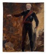General Gebhard Leberecht Von Blucher Fleece Blanket