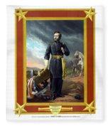 General Us Grant Fleece Blanket