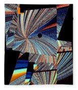 Geometric Abstract 1 Fleece Blanket