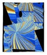 Geometric Abstract 2 Fleece Blanket