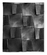 Geometrix Abstract Art Fleece Blanket