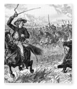 George Custer (1839-1876) Fleece Blanket
