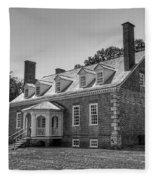George Mason's Gunston Hall Fleece Blanket