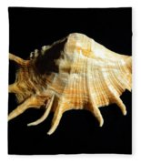 Giant Spider Conch Seashell Lambis Truncata Fleece Blanket