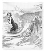 Gibson: Bather, 1902 Fleece Blanket