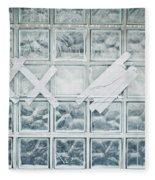Glass Wall Fleece Blanket