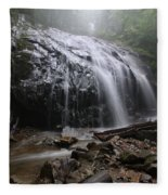 Glen Burney Falls Fleece Blanket