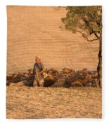 Goatherd Fleece Blanket