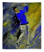 Golfplayer Fleece Blanket