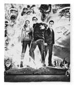 Goosebumps Fleece Blanket