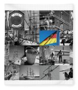 Gorch Fock 1958 Fleece Blanket