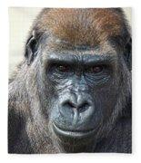 Gorilla 1 Fleece Blanket