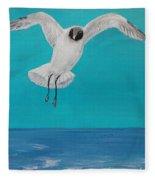 Graceful Landing Fleece Blanket