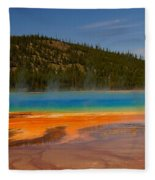 Grand Prismatic Pool IIi Fleece Blanket