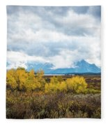 Grand Tetons Fleece Blanket