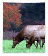 Grazing Together Fleece Blanket
