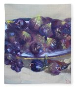 Greek Figs Fleece Blanket