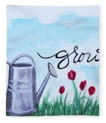 Grow Fleece Blanket