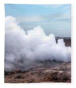 Gunnuhver - Iceland Fleece Blanket