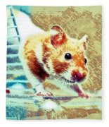 Hamster Fleece Blanket